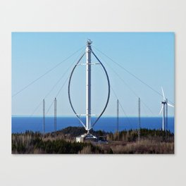 Giant Windmill Canvas Print