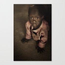 Samburu Baby Canvas Print