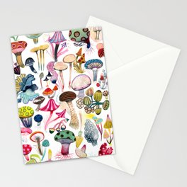 Mushroom Collection - b r i g h t s Stationery Cards
