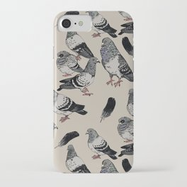 Pigeon Pattern iPhone Case