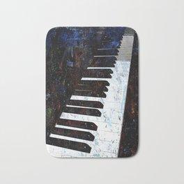 Piano Modern art Bath Mat