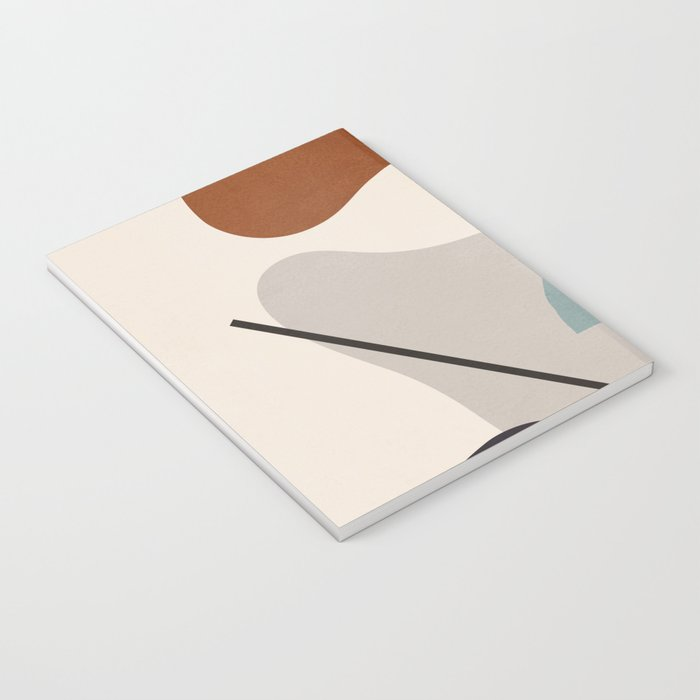 Abstract Shapes 11 Notebook