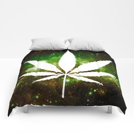 Weed : High Times Galaxy Comforters