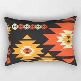 Native geometric shapes Rectangular Pillow