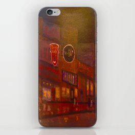 Evening on Beale Street iPhone Skin