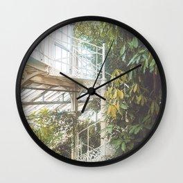 Greenhouse 2 Wall Clock