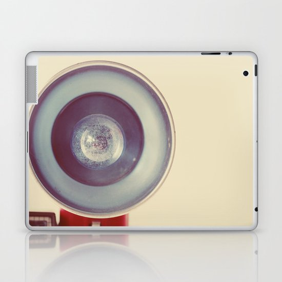 Blue Flash Laptop & iPad Skin