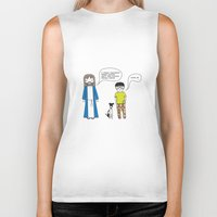 cookies Biker Tanks featuring Cookies by theswagnessofbonnie