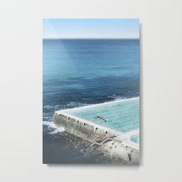 Bondi Icebergs 03 Metal Print