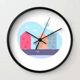 Little Europe Wall Clock