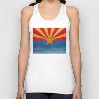 arizona Tank Tops featuring Arizona by Michael Creese