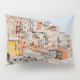 Manarola, Cinque Terre III Pillow Sham