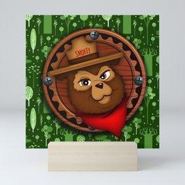 camp Bear Mini Art Print