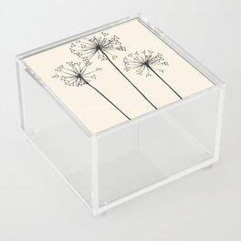 Dandelions Acrylic Box