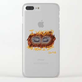 John 9-15 Clear iPhone Case