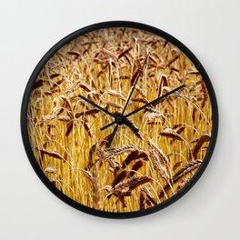 High grain image Wall Clock