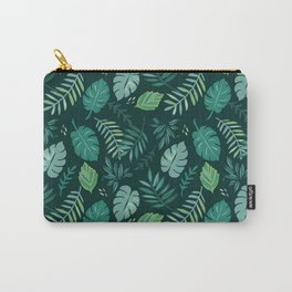 Leafy Palms Carry-All Pouch
