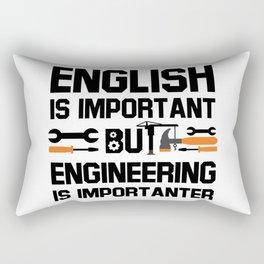 English Rectangular Pillow