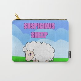 Suspicious Sheep Carry-All Pouch