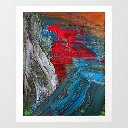 Splash Chroma Art Print