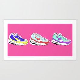 Nike Air Art Print