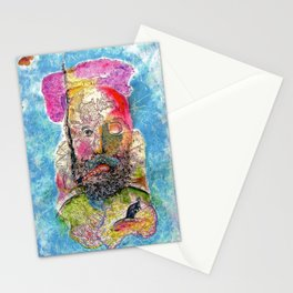Map Man Stationery Cards