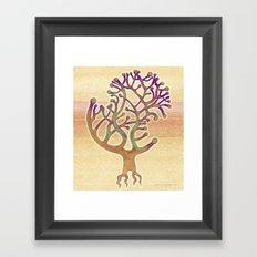 Potombo tree Framed Art Print