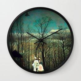 "Henri Rousseau ""Carnival Evening"" Wall Clock"