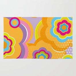 Colorful Blossom Rug