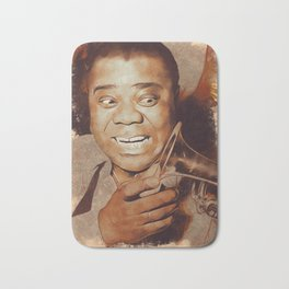 Louis Armstrong, Music Legend Bath Mat