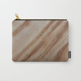 Unique beautiful wood veneer design Carry-All Pouch