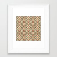 square Framed Art Prints featuring Square by samedia