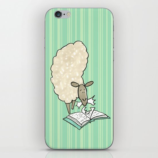 Hungry Sheep iPhone & iPod Skin