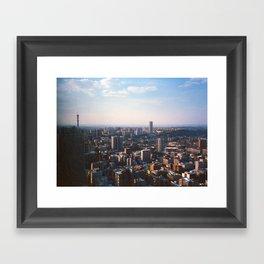 Top of Johannesburg Framed Art Print