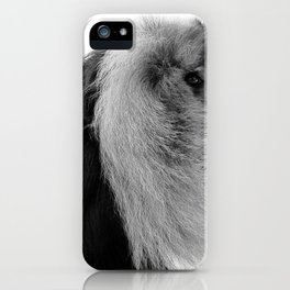 Winter Monkey iPhone Case