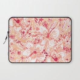 HIYA HIBISCUS Tropical Floral Laptop Sleeve