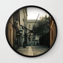 Old city of Pilsen Wall Clock