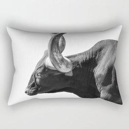 Ankole-Watusi | Animal Photography Rectangular Pillow