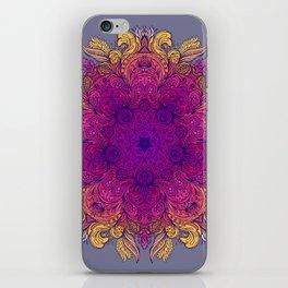 Floral Mandala 01 iPhone Skin