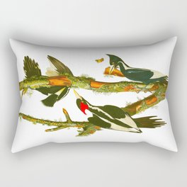 Ivory-billed Woodpecker Rectangular Pillow