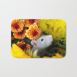 Adorable Autumn Princess Bath Mat