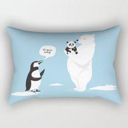 How little Pandas are born Rectangular Pillow