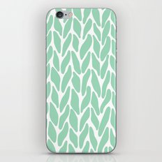 Hand Knitted Mint iPhone & iPod Skin