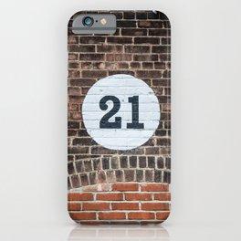 21 iPhone Case
