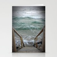 maine Stationery Cards featuring Maine I by Pistache and Rose