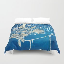 Breath of Flowers Duvet Cover