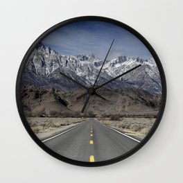 Road To Mt Whitney  2-27-19 Wall Clock