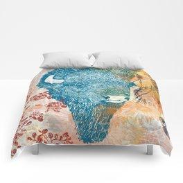 Blue Bison Comforters