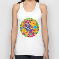 60s Tank Tops featuring BQ - Yas4Yas 60s Throwback by lessdanthree