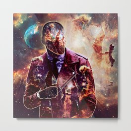 Citizen of the Universe Metal Print